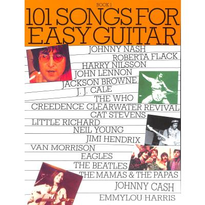 101 SONGS FOR EASY GUITAR 1