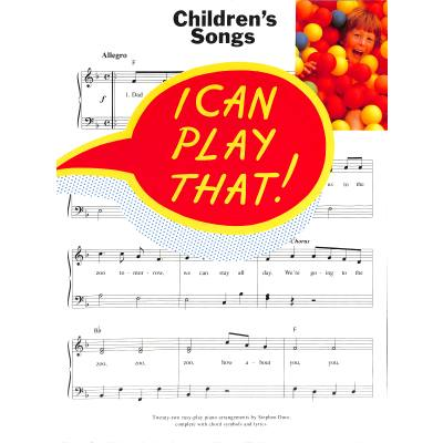 I Can Play That - Children´s Songs