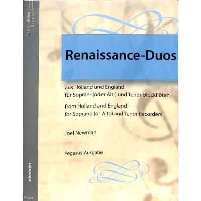 RENAISSANCE DUOS AUS HOLLAND UND ENGLAND