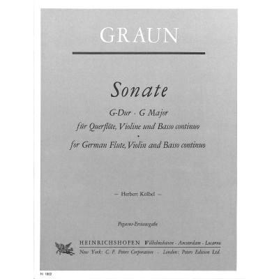 SONATE G-DUR - broschei