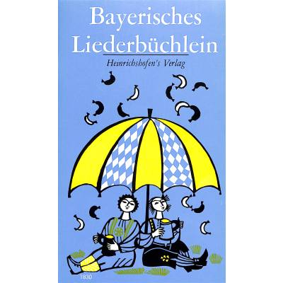 BAYERISCHES LIEDERBUECHLEIN - broschei