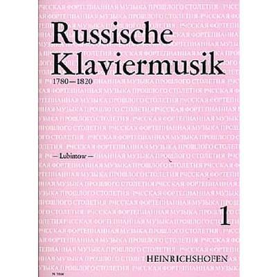 RUSSISCHE KLAVIERMUSIK 1 - broschei