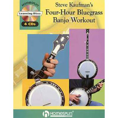 4 hour Bluegrass banjo workout