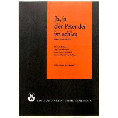 Ja Ja Der Peter Der Ist Schlau