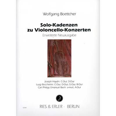 Solo kadenzen zu vc konzerten boettcher wolfgang re02044 for Wolfgang hieber