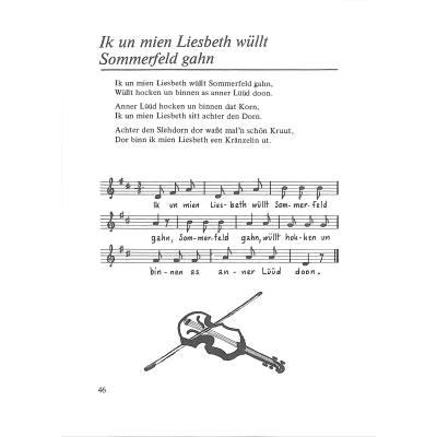 Plattdeutsche Lieder Texte