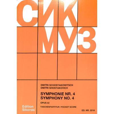 Sinfonie 4 op 43