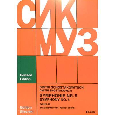 Sinfonie 5 d-moll op 47