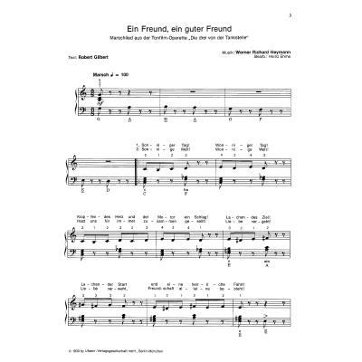 Ein freund ein guter freund noten pdf