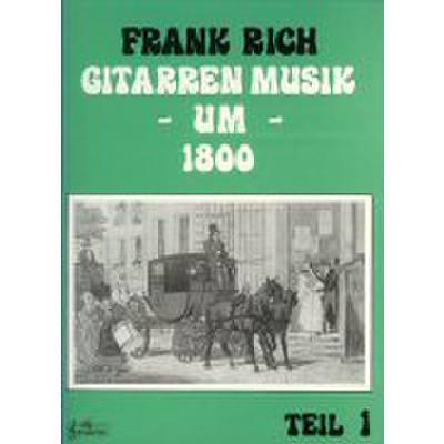 Gitarren Musik 1 Um 1800