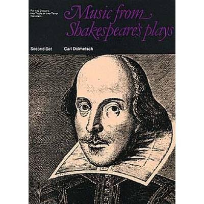 music-from-shakespeare-s-plays, 10.95 EUR @ notenbuch-de