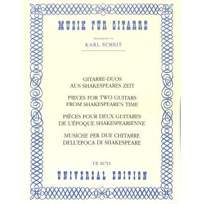 gitarre-duette-aus-shakespeares-zeit, 16.50 EUR @ notenbuch-de