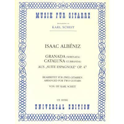 Granada + Cataluna (aus Suite espanola op 47)