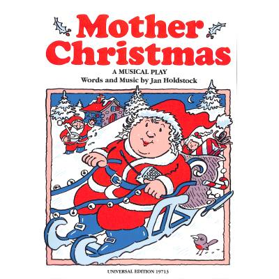 MOTHER CHRISTMAS - broschei