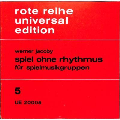 SPIEL OHNE RHYTHMUS - broschei