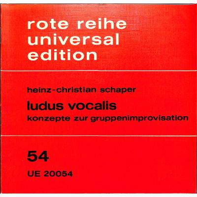 LUDUS VOCALIS - broschei