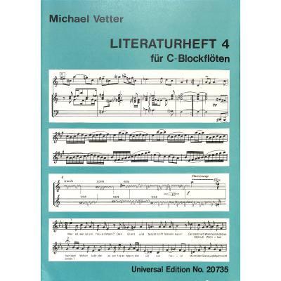 LITERATURHEFT 4 - broschei
