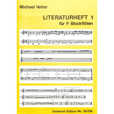 LITERATURHEFT 1 - broschei