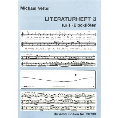 LITERATURHEFT BD 3 - broschei