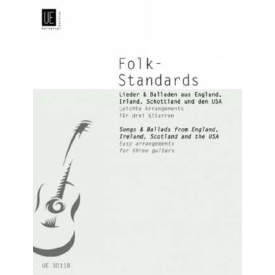 Folk standards - songs + ballad
