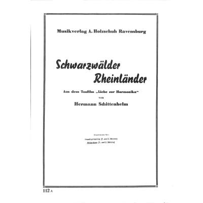 SCHWARZWAELDER RHEINLAENDER
