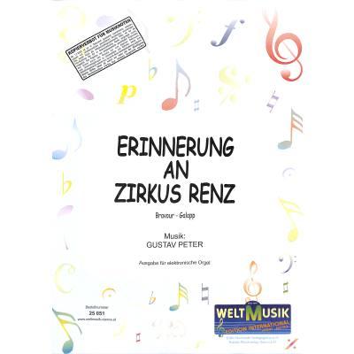 ERINNERUNG AN ZIRKUS RENZ