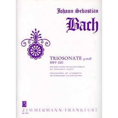 SONATE G-MOLL BWV 1020