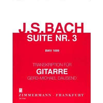 Suite 3 C-Dur BWV 1009