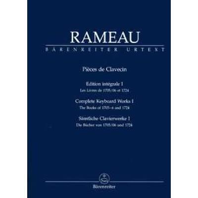 PIECES DE CLAVECIN 1 EDITION INTEGRALE