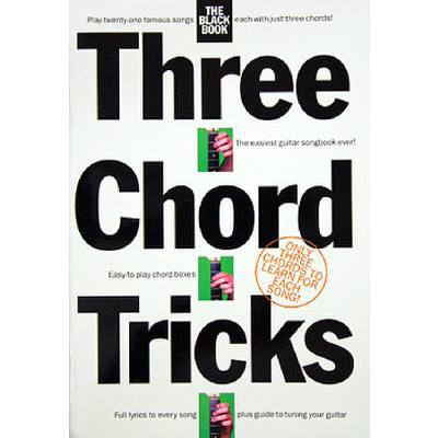 3 CHORD TRICKS - THE BLACK BOOK