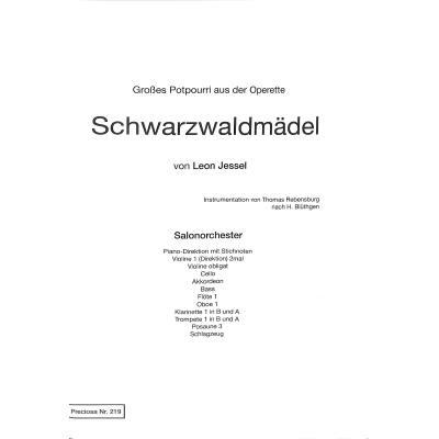 Schwarzwaldmädel - Potpourri