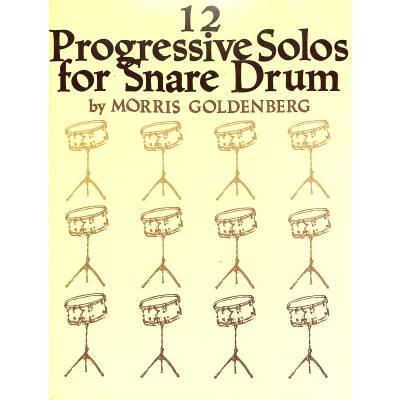 12-progressive-solos-for-snare-drum
