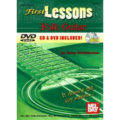 FIRST LESSONS FOLK GUITAR