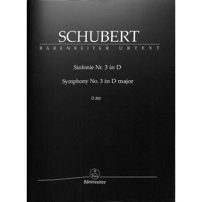 Sinfonie 3 D-Dur D 200