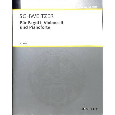 Für Fagott Violoncello und Pianoforte