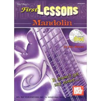 FIRST LESSONS - MANDOLIN