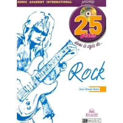 25 PLANS DANS LE STYLE DE ROCK