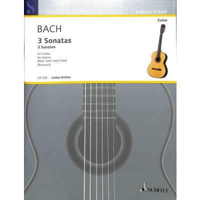 3 Sonaten nach BWV 1001 1003 1005