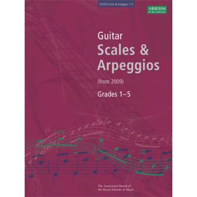 GUITAR SCALES + ARPEGGIOS GRADES 1-5 (FROM 2009)
