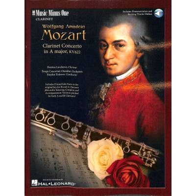 Konzert a dur kv 622 mozart wolfgang amadeus mmo3238 for Wolfgang hieber
