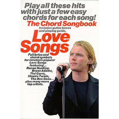 LOVE SONGS - THE CHORD SONGBOOK