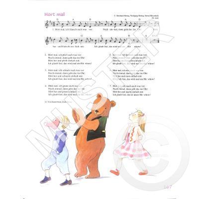 Der Liederbär 403 Alte Neue Kinderlieder Musikhaus Hieber