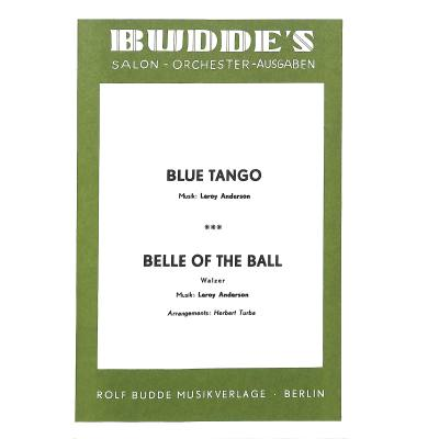 Blue tango + belle of the ball