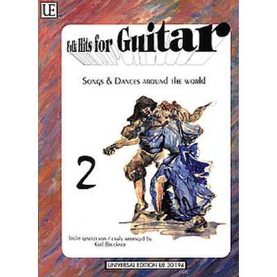 Folk hits for guitar 2