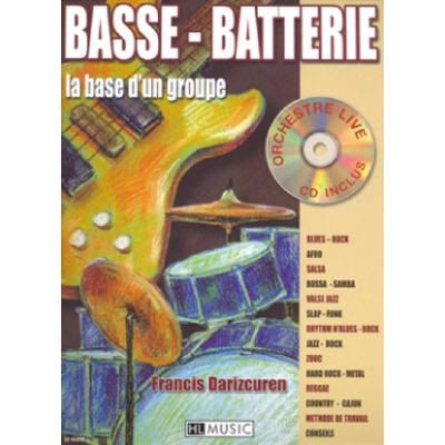 basse-batterie-la-base-d-un-groupe