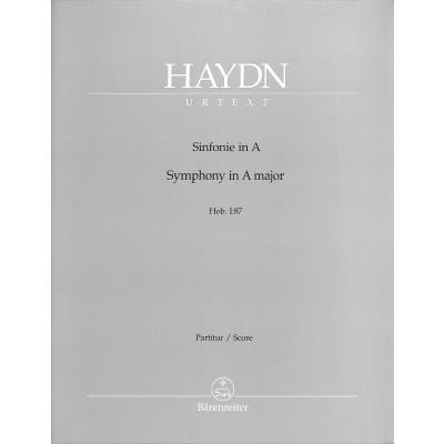 Sinfonie 87 A-Dur Hob 1/87