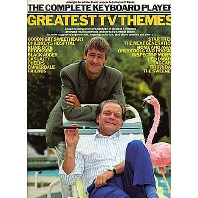THE COMPLETE KEYBOARD PLAYER - GREATEST TV THEMES