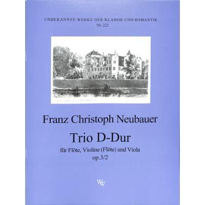 Trio D-Dur op 3/2