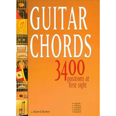 GUITAR CHORDS - 3400 POSITIONS AT FIRST SIGHT