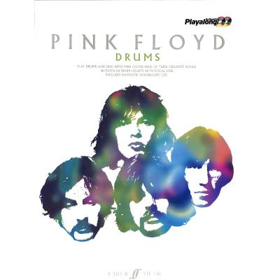 Faber Music Pink Floyd Authentic Playalong Drums + Cd - broschei